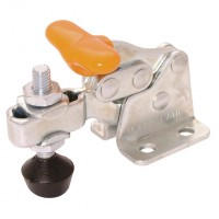 BR-V70/2BT Vertical Manual Clamps, Flanged Base