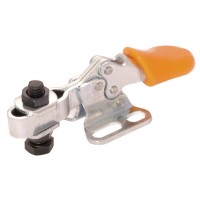 BR-H50/2B Horizontal Manual Clamps, Flanged Base