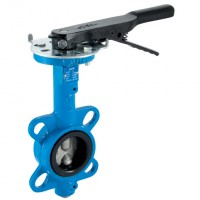 LEVER/125DIEP Cast Iron Body, Ductile Iron Disc, EPDM Liner