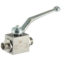KHV12L-SS 316 Stainless Steel Hydraulic Ball Valves, DIN 2353
