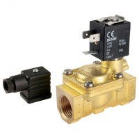 L182D01-12-24 General Purpose 2/2 N/C, Pilot Operated Solenoid Valves