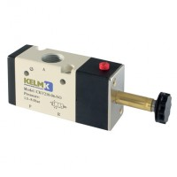 CKV210-08-NO Solenoid 3/2 Way Valves