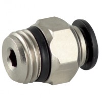 5500000007 Straight Male Adaptors