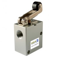 K3M3R-08 Panel Mount Valves, Manual & Mechanical 3/2 Way Valves