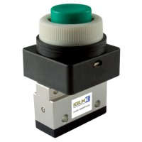 K3M3PP-05-G Panel Mount Valves, Manual & Mechanical 3/2 Way Valves
