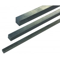 5mm x 5mm Key Steel x 12 inch